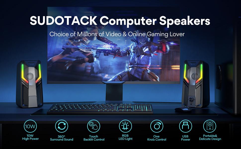 Sudotack  Computer Speakers