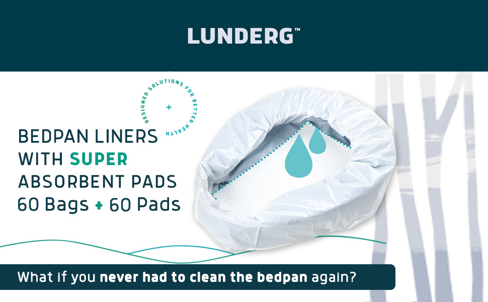lunderg bedpan liners with pads
