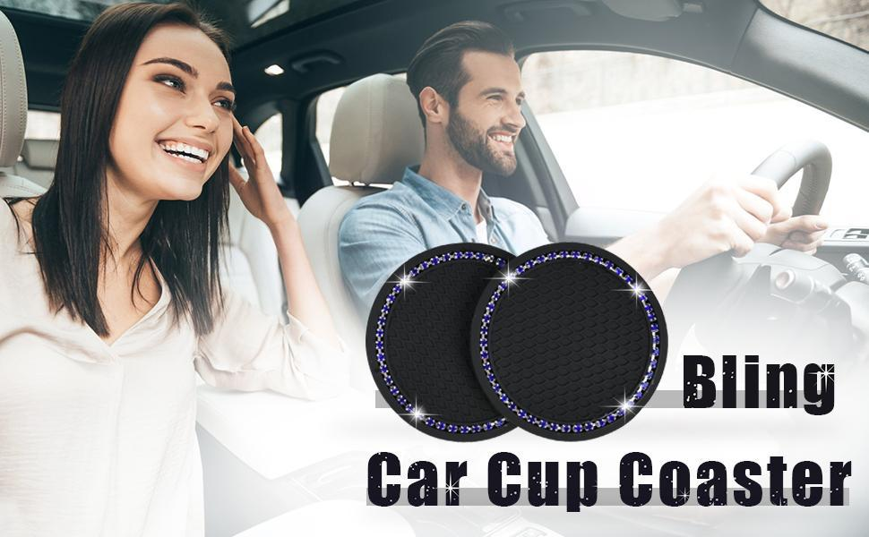 Bling Car Cup Coasters