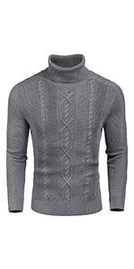 Menamp;amp;#39;s Slim Fit Turtleneck Sweater