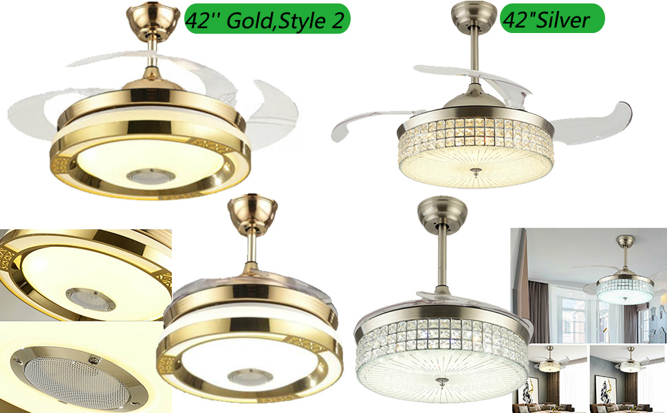 42 Inch Ceiling Fans with Lights