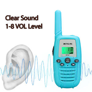 RT37 walkie talkies with clear sound