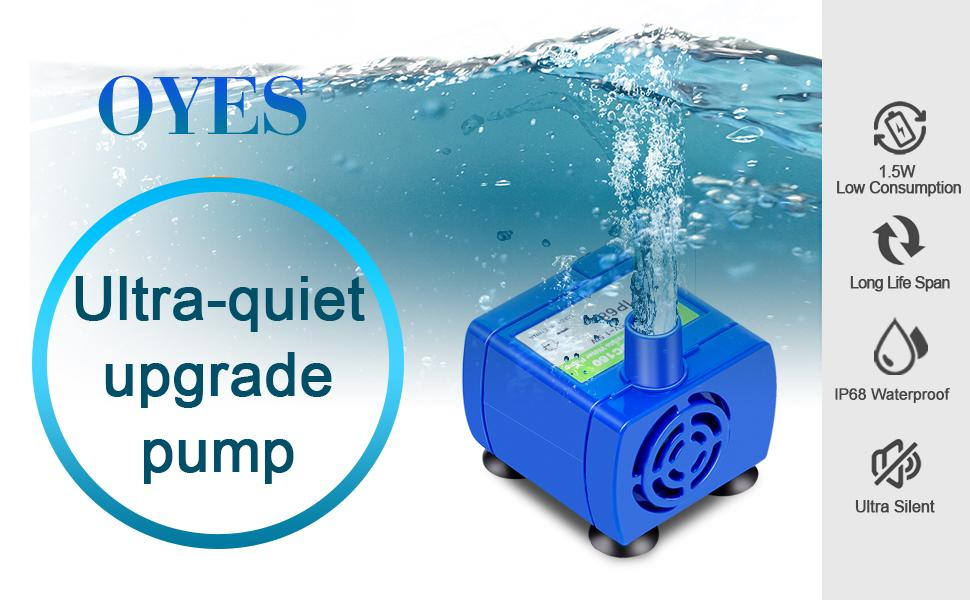 cat fountain pump