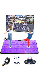 birthday gift for kids,yoga mat ,Dancing Game mat,Dance pad,family games,kids exercise toys