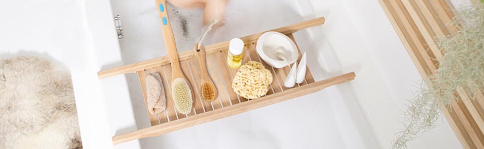 Body Brush in Bathrooms