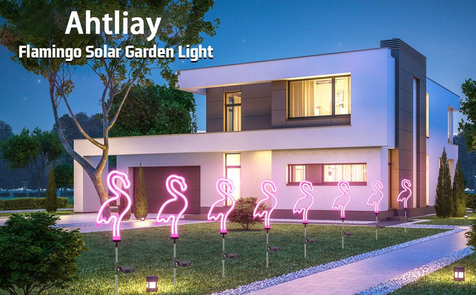 Flamingo Solar Garden Light