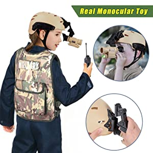 Military Soldier Costume Army Costume Kids Military Soldier