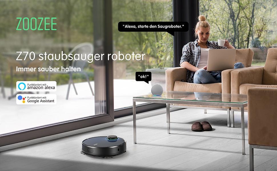 ZOOZEE staubsauger roboter