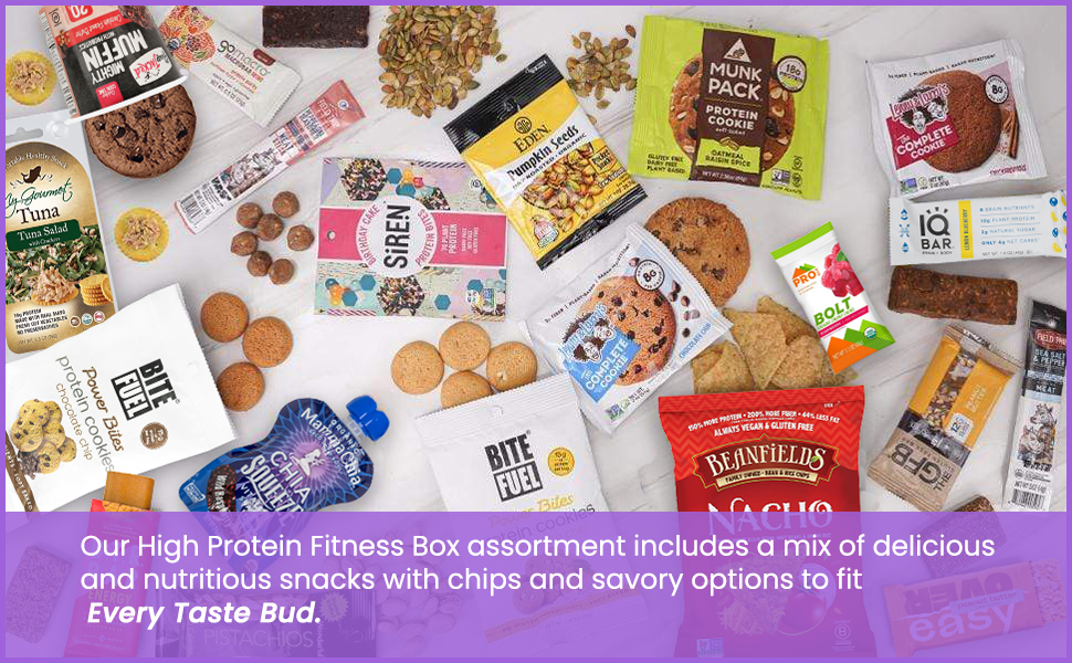High Protein Fitness 20 Box