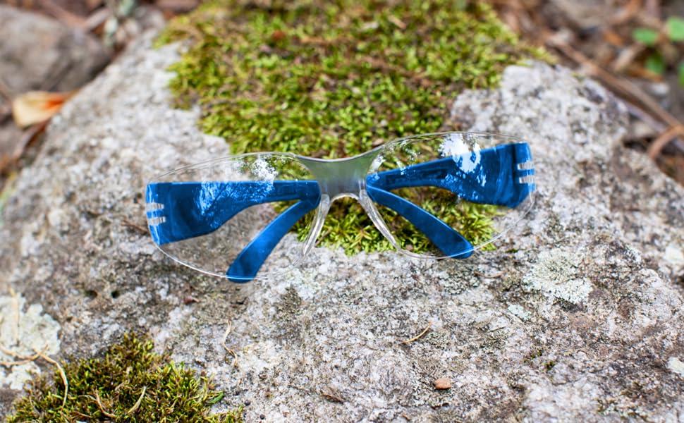 Safe Handler Clear Lens Color Temple