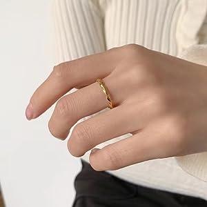 2mm thin ring