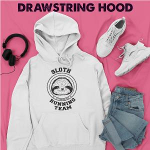 sloth hoodie funny sweatshirt for women gift for her fall clothing
