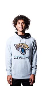 Ultra Game NFL Men's French Terry Hoodie Sweatshirt