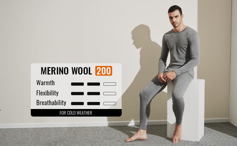 MERINO WOOL 200