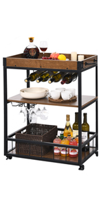 bar cart for the home