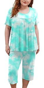 tie-dye pajamas