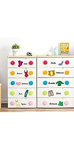 Organizing Decals