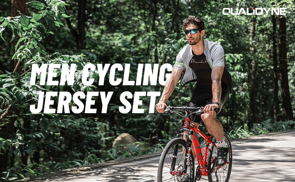 MEN CYCLING JERSEY SET
