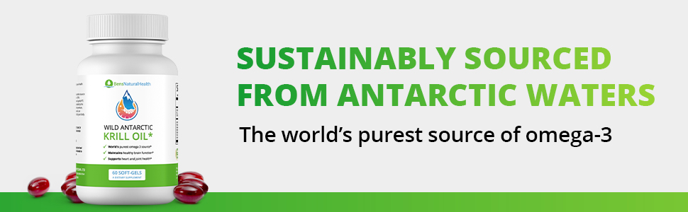 Sustainably Sourced from Antarctic Waters