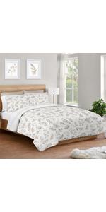 3 Piece Full/Queen Bedding