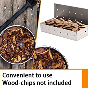 SWITCH WOOD CHIPS WITH EASE
