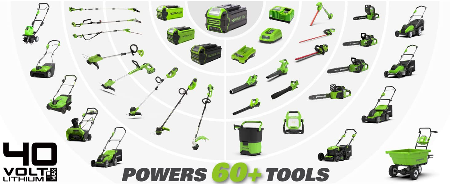 One battery for 60+ tools