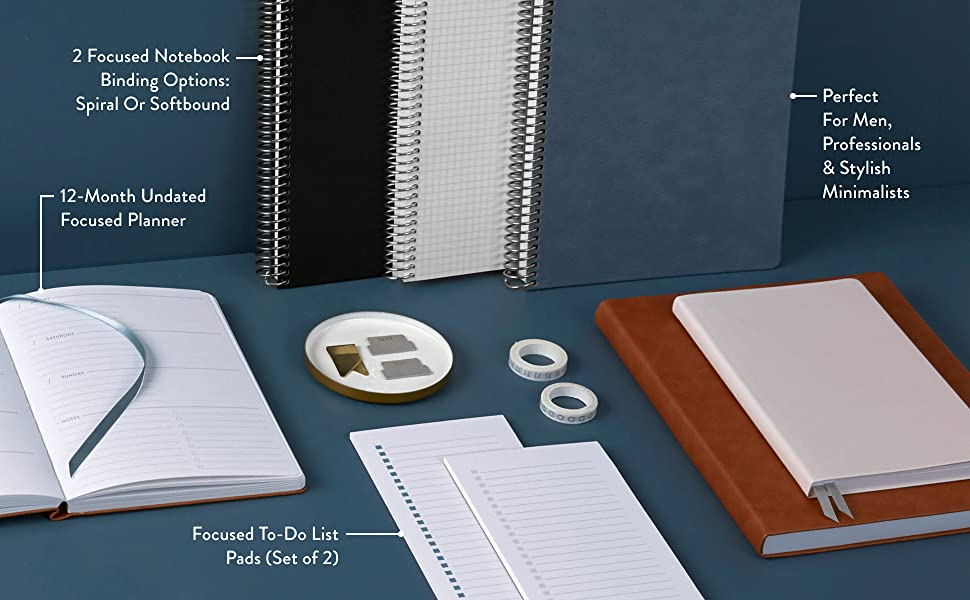 Productivity Notebooks, Streamlined Planners amp; More