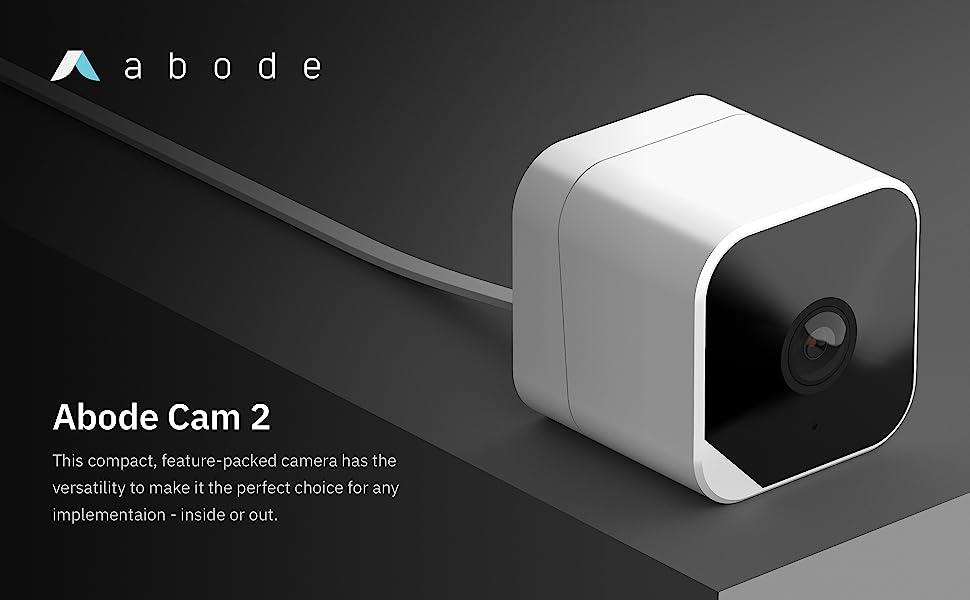 Abode Cam 2 WiFi Outdoor Security Camera