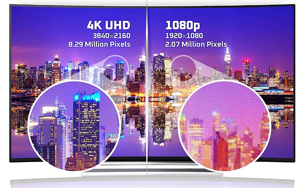 4K Super Vivid Color. Get Local Channels in Crystal Clear Quality!