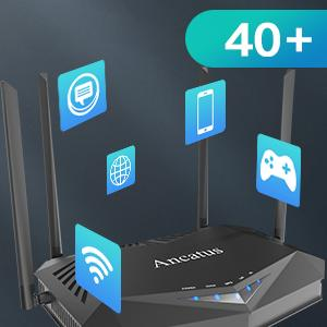 best internet router smart router wi-fi 6 router