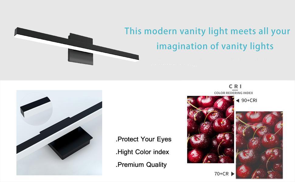 modern vanity light