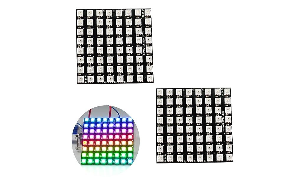 8 RGB LED Stick 8 X WS2812