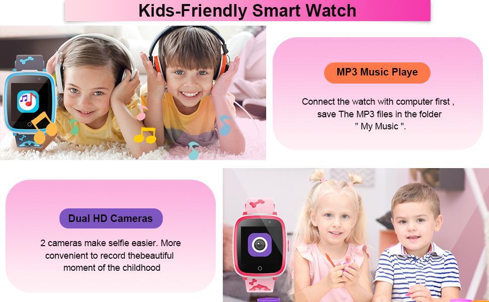 kids friendly smart watch