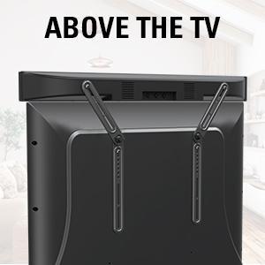 UNIVERSAL SOUND BAR MOUNT BRACKET - INSTALL WITH TV