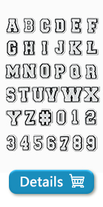crocs charms alphabet