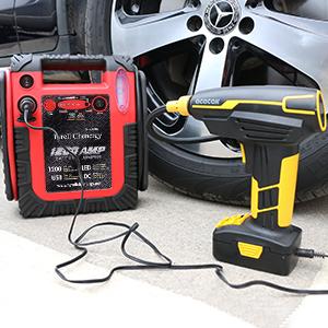 car battery charger jump starter 12v battery portable starter booster box starter box for vehicle4