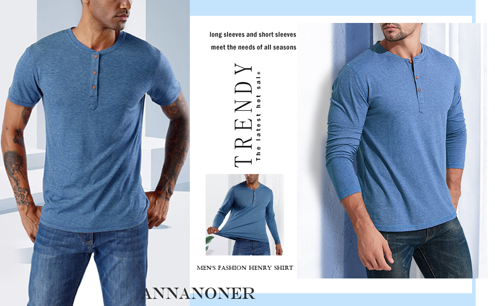 ANNANONER henry shirt