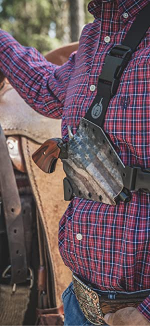 Chest Holster perfect for hose riding