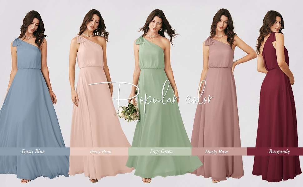 Alicepub Colorful Bridesmaid Dresses