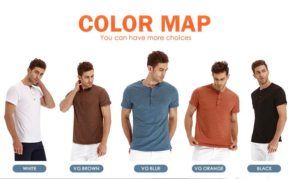 Saiwind Casual henley summer T-shirt