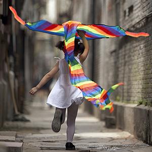 rainbow kite for kids