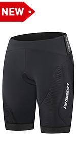 Womens Padded Bike Shorts