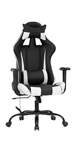 BM-RC111-White Gaming chair