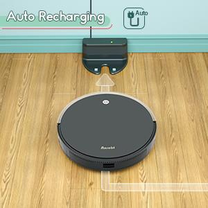 Robot Vacuum and Mop, Automatic Smart Sweeping amp; Mopping Robotic Vacuum Cleaner