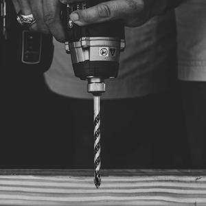 AugTouf Masonry Drill Bit Set