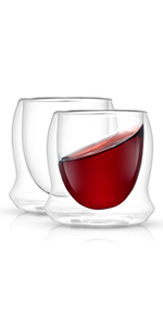 double wall wine glasses