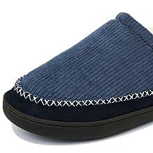 OTIEMU 男士棉拖鞋头