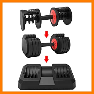 Mesixi dumbbells set is a must-have fitness equipment at home and gym
