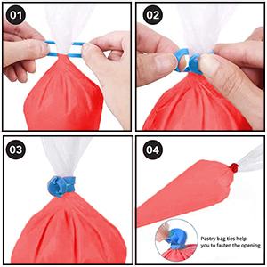 pastry bag ties