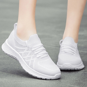 Womenamp;#39;s Walking Shoes pure white
